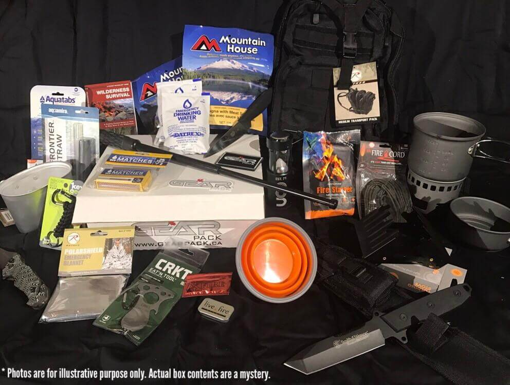 Gear Pack Subscription Box