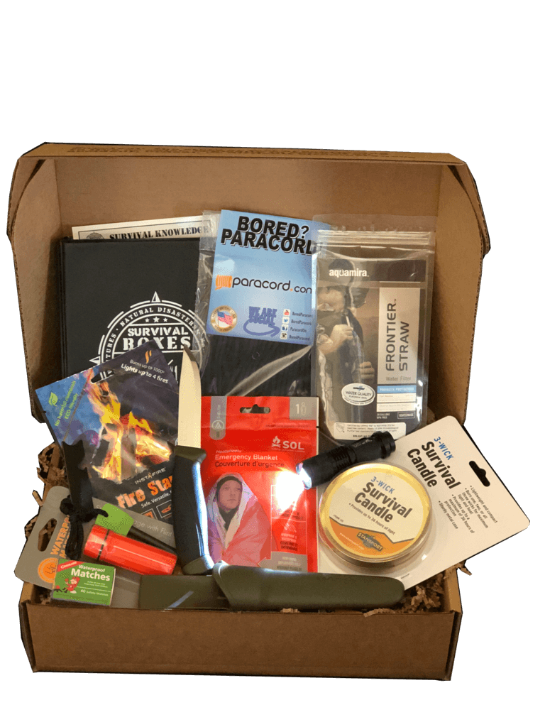 Survival Susbcription Boxes will help you prepare for anything!