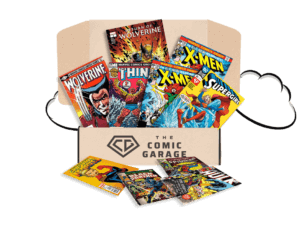 Try The comic garage subscription box today! Click now!