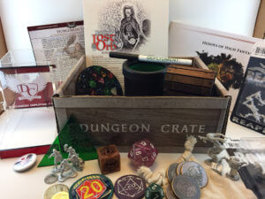 Try dungeon crate subscription box today!