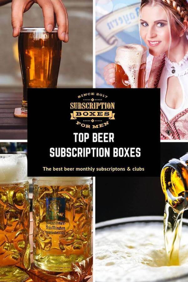 BEST BEER SUBSCRIPTION BOXES MONTHLY CLUBS