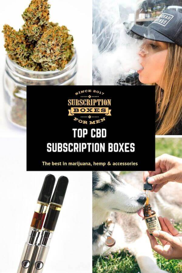 BEST WEED, CBD AND MARIJUANA HEMP AND CANNIBIS SUBSCRIPTION BOXES