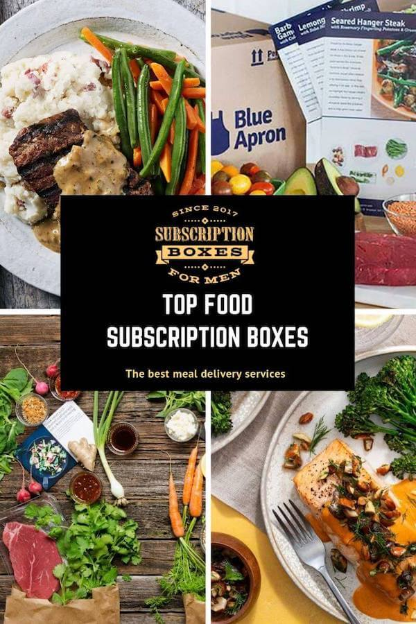 BEST FOOD SUBSCRIPTION AND MEAL DELIVERY SERVICE