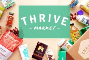 Try Thrive market food subscription meal delivery today!
