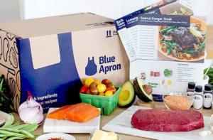 Try blue apron food subscription meal and delivery service today!