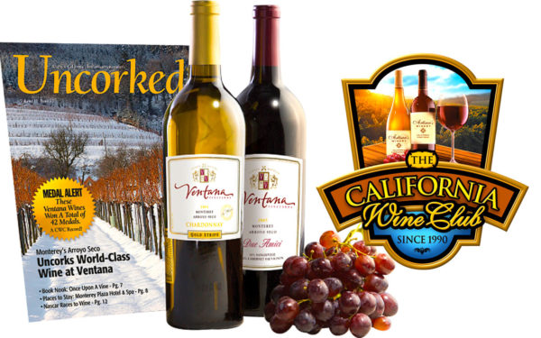 Try california wine club monthly subscription today!