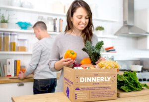 Try dinnerly food subscription and meal delivery service today!