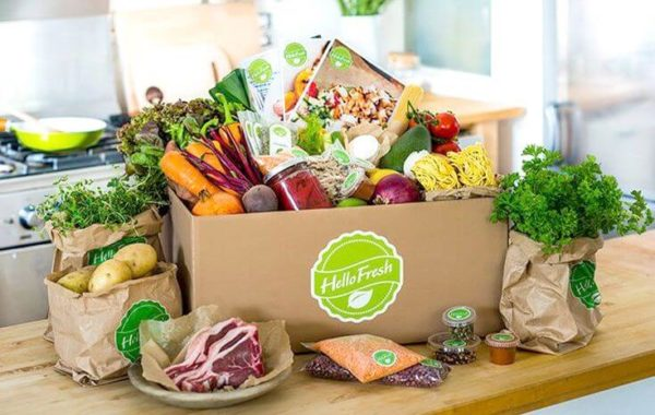 Try hello fresh food subscription meal delivery service today!