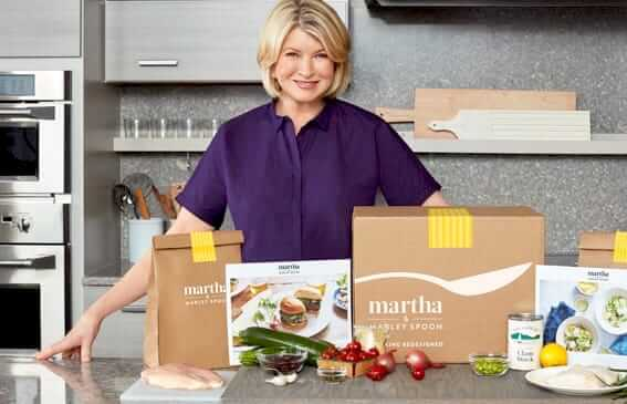 Try martha stewart and marley spoon food delivery service and food subscription today!