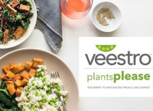 Try veestro plant based meal delivery subscription today!