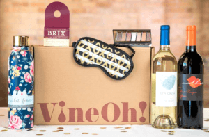 Try vineOh wine subscription monthly box today!