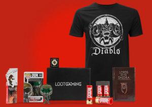 loot gaming subscription box review