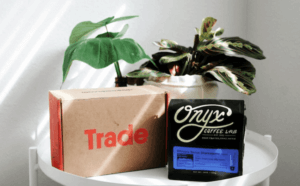 Try trade coffee subscription monthly today!