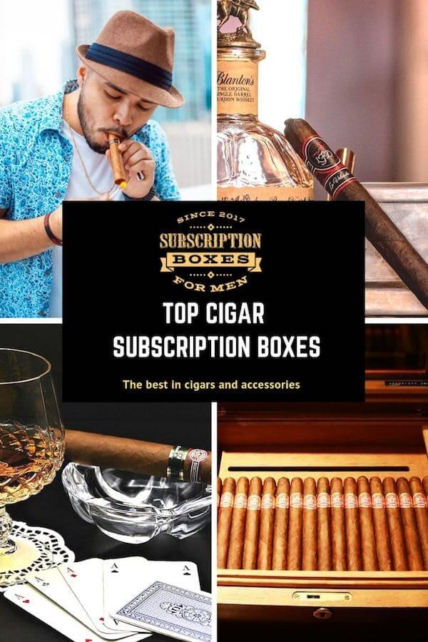 Here is a photo of the best cigar subscription boxes.