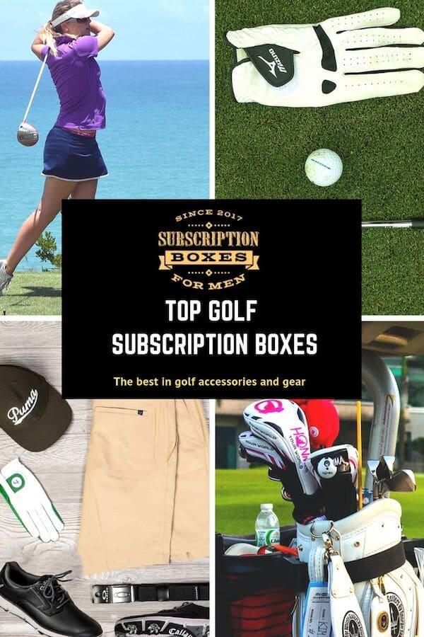 This is the cover image for the best golf subscription boxes.