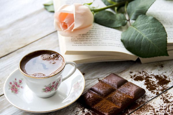 Chocolate and Book