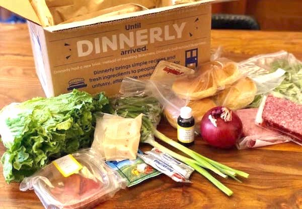 Dinnerly Cheap Food Subscription Box