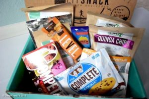 healthy fit snack subscription box