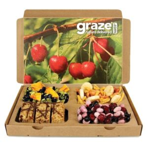 graze healthy snack subscription box