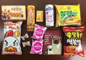 snack fever box