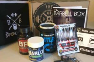 Buy the barbell box subscription today!